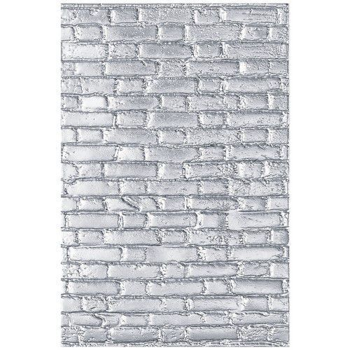 56332 Sizzix 3D Textured Impressions Embossing Folder Brickwork  (664259).