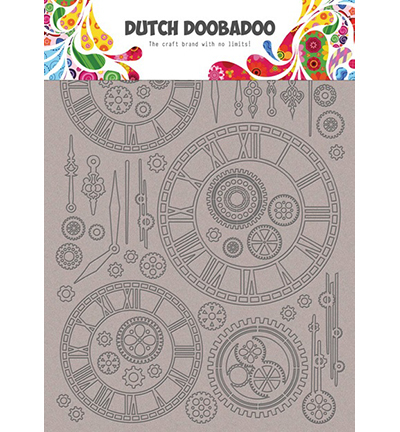 56394 DDBD Dutch Greyboard Clocks (492.006.003).