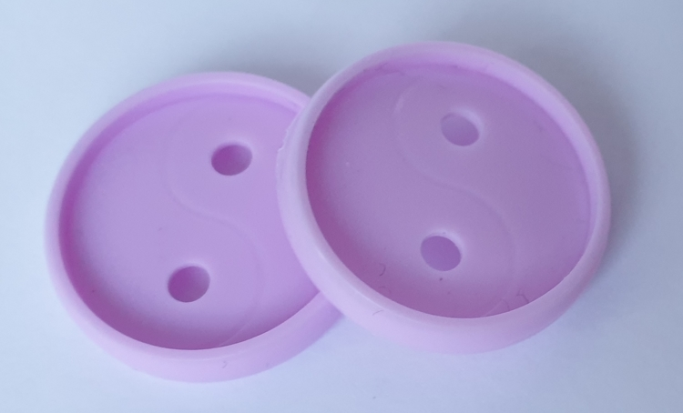 56657 Meaningful Crafts 2 Connect Discs 12x Violet.