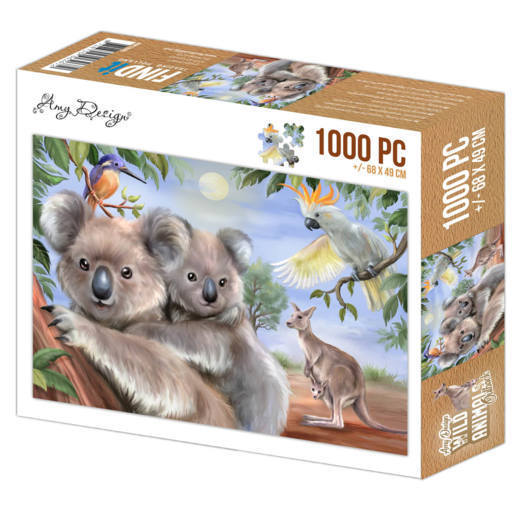 56903 Jigsaw puzzle 1000 pc - Amy Design - Wild Animals Outback (ADPZ1003).