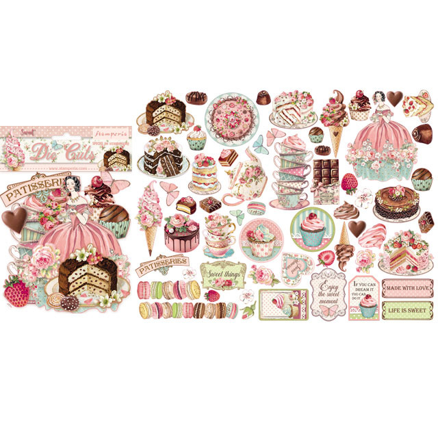 57385 Stamperia Sweety Die Cuts (DFLDC20).