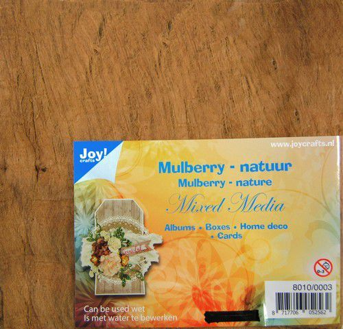 58969 Joy! Crafts Mulberry Boombastvezels voor oa. Mixed Media-bruin (8010/0003).