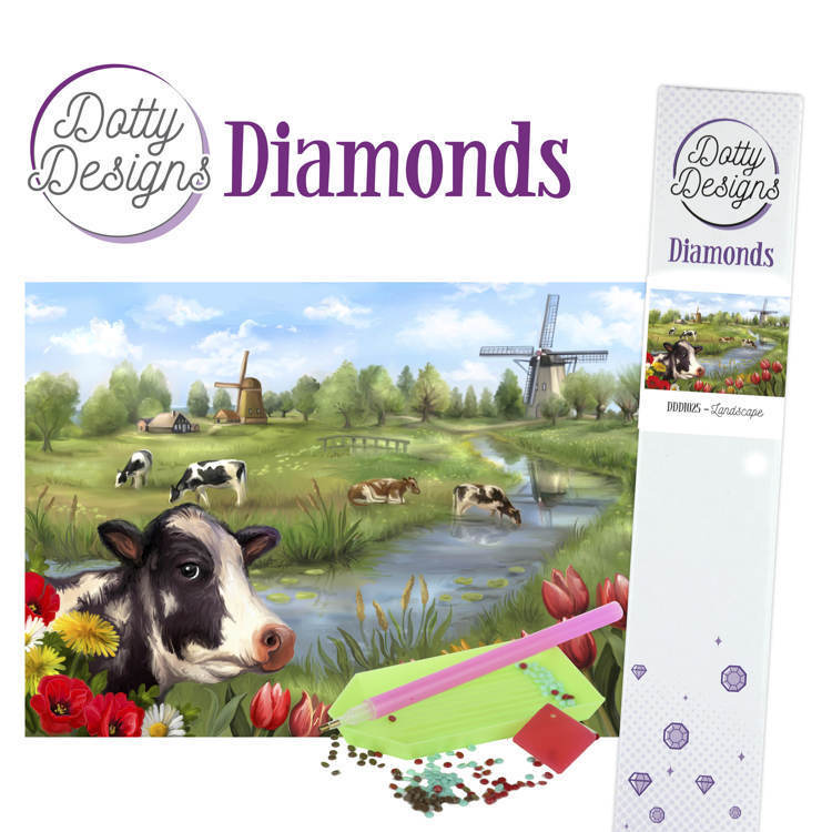 59179 DDD1025 Dotty Designs Diamonds - Landscape.