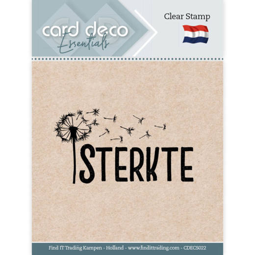 59286 CDECS022 Card Deco Essentials - Clear Stamps - Sterkte.