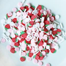 59411 Dress My Crafts Shaker Elements 8gm Strawberry Confetti Mix.