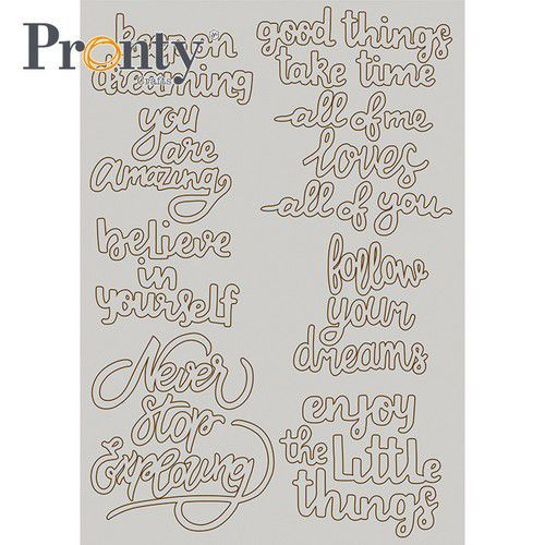 60045 Pronty Chipboard A5 Quotes 492.010.021.