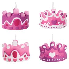 4504 Wilton Princess Candles set/4 (2811-1001).