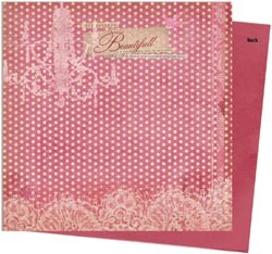 "11283 Victoria Double-Sided Paper 12""X12""Printemps."