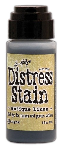 12728 Distress Stain Dabber Antique Linen.