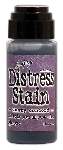 12730 Distress Stain Dabber Dusty Concord.