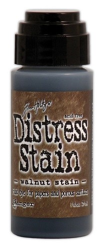 12737 Distress Stain Dabber Walnut Stain.