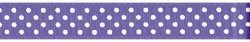 13858 Grosgrain Confetti Dot Ribbon 22mm Delphine.