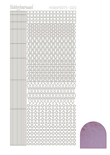 14771 Hobby Dots Sticker 009 Mirror Pink.