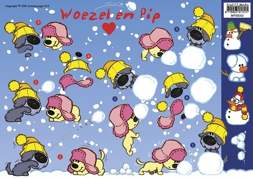 701 Woezel en Pip - Winter (WP10010).