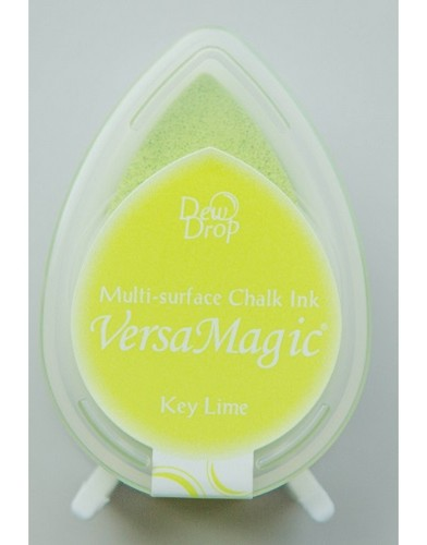 15303 VersaMagic Multi Surface Dew Drop Chalk Inkpad Key Lime.