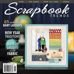 15594 Scrapbook Trends Magazine Januari 2012.