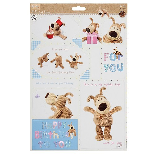 16298 A4 Die-Cut Toppers - Boofle™ (Birthday).