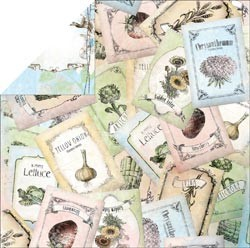 16465 Country Garden 2-Sided Cardstock Seeds.
