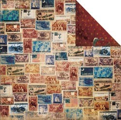 16674 Weekend Market 2-Sided Postage.