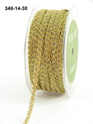17184 Gold Metallic / Chain Cord 6mm.