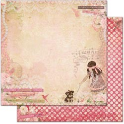 17940 Little Miss Double-Sided Cardstock Little Miss.