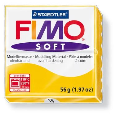 18243 Fimo Soft Zonnegeel.