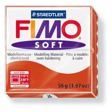18245 Fimo Soft Indisch Rood.