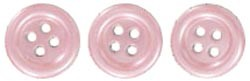 18691 Self-Adhesive Pearl Buttons 6/Pkg 12mm Pink.