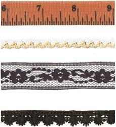 19292 Halloween Toil & Trouble Market Trims 4 Yards 4x 90 cm.