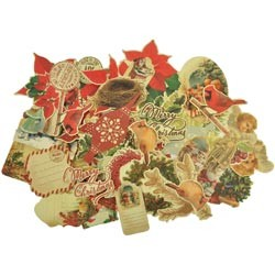 19438 Turtle Dove Collectables Cardstock Die-Cuts 57/Pkg.
