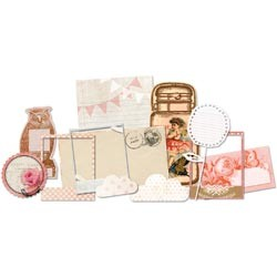 20255 Glitz Hello Friend Whatnots Die-Cuts 12/Pkg.