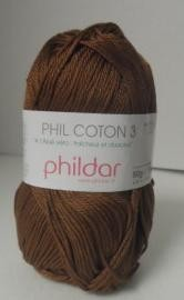 20530 Phildar Cotton 3 Havane 1388.