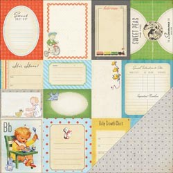 20712 Little Boy Blue Double-Sided Cardstock Accent Cuts.