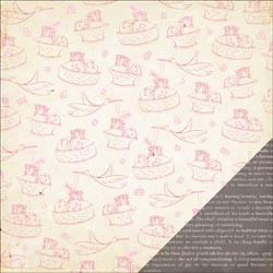 20720 Little Bo Peep Double-Sided Cardstock Clara.