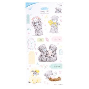 20911 GLITTER CARDSTOCK STICKERS (2PK) - SPRING CHIC (CHARACTERS).