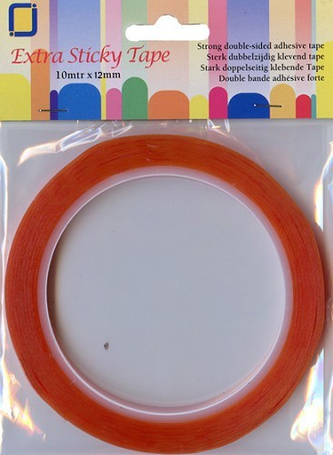21154 Extra Sticky Tape 12 mm x 10 Meter.
