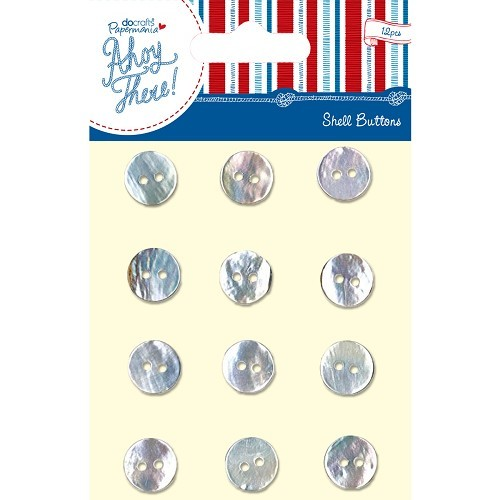 22479 Shell Buttons (12pcs) - Ahoy There.