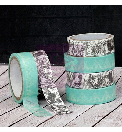 22724 Prima Washi Tape Fairy Rhymes 1 rol a 5 meter + 1 rol a 91cm.