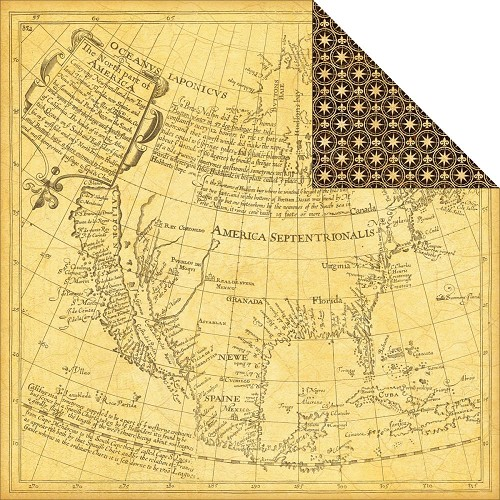 23046 Photo Freedom Transatlantique Double-Sided Paper Abroad.