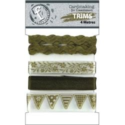 23718 Fundamentals Trims Antique Gold 4 Meters/Pkg.