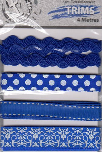 23720 Fundamentals Trims Blue 4 Meters/Pkg.
