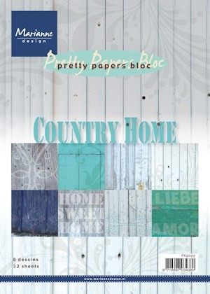 23783 Pretty Papers Bloc Country Home (PK9099).