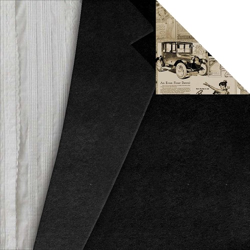 23804 - 7 Gypsies Harmony Collection 2-Sided Paper Black Tie.