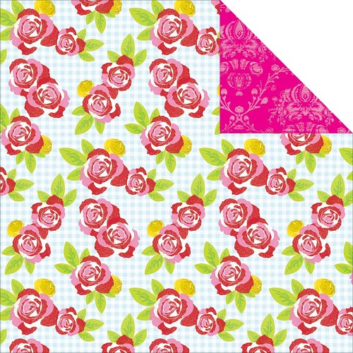 23903 Kaisercraft Tea Party Collection 2-Sided Paper Afternoon Tea.