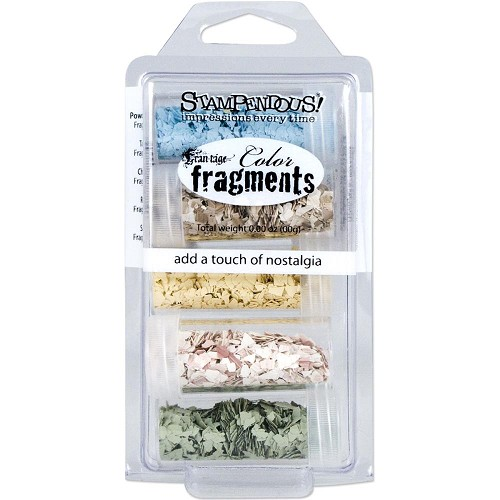 23964 Stampendous Frantage Color Fragments.