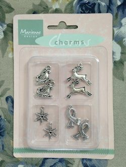 24162 Charms Set Winter (JU0902).