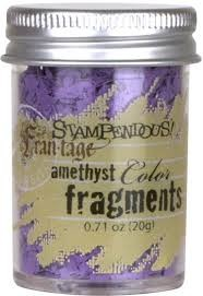 24265 Stampendous Color Fragments Amethyst.