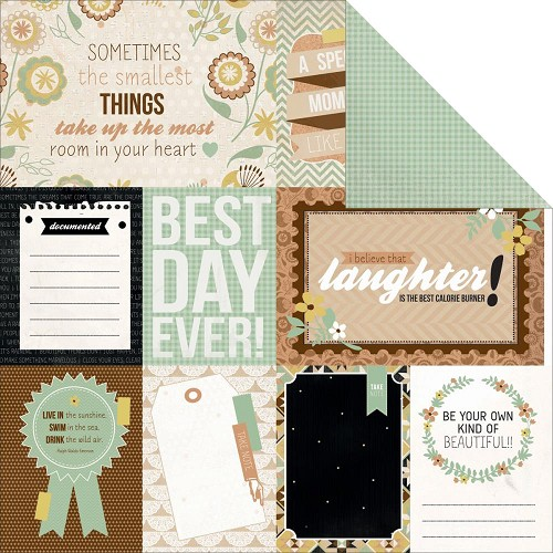 24288 Kaisercraft Take Note Collection 2-Sided Paper Memories.