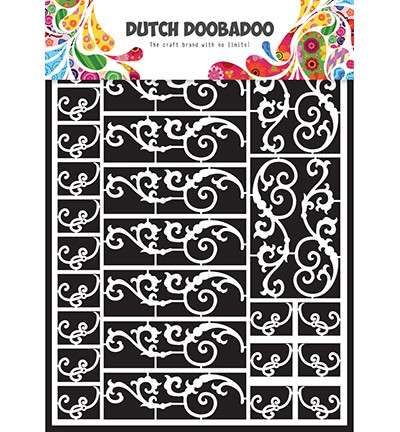 24364 Dutch Doobadoo Dutch Paper Art - Swirls A5.