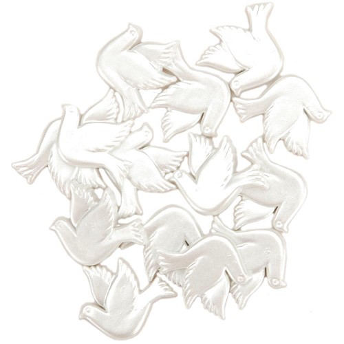 25417 Dress It Up Embellishments Wedding Doves 12 Stuks.